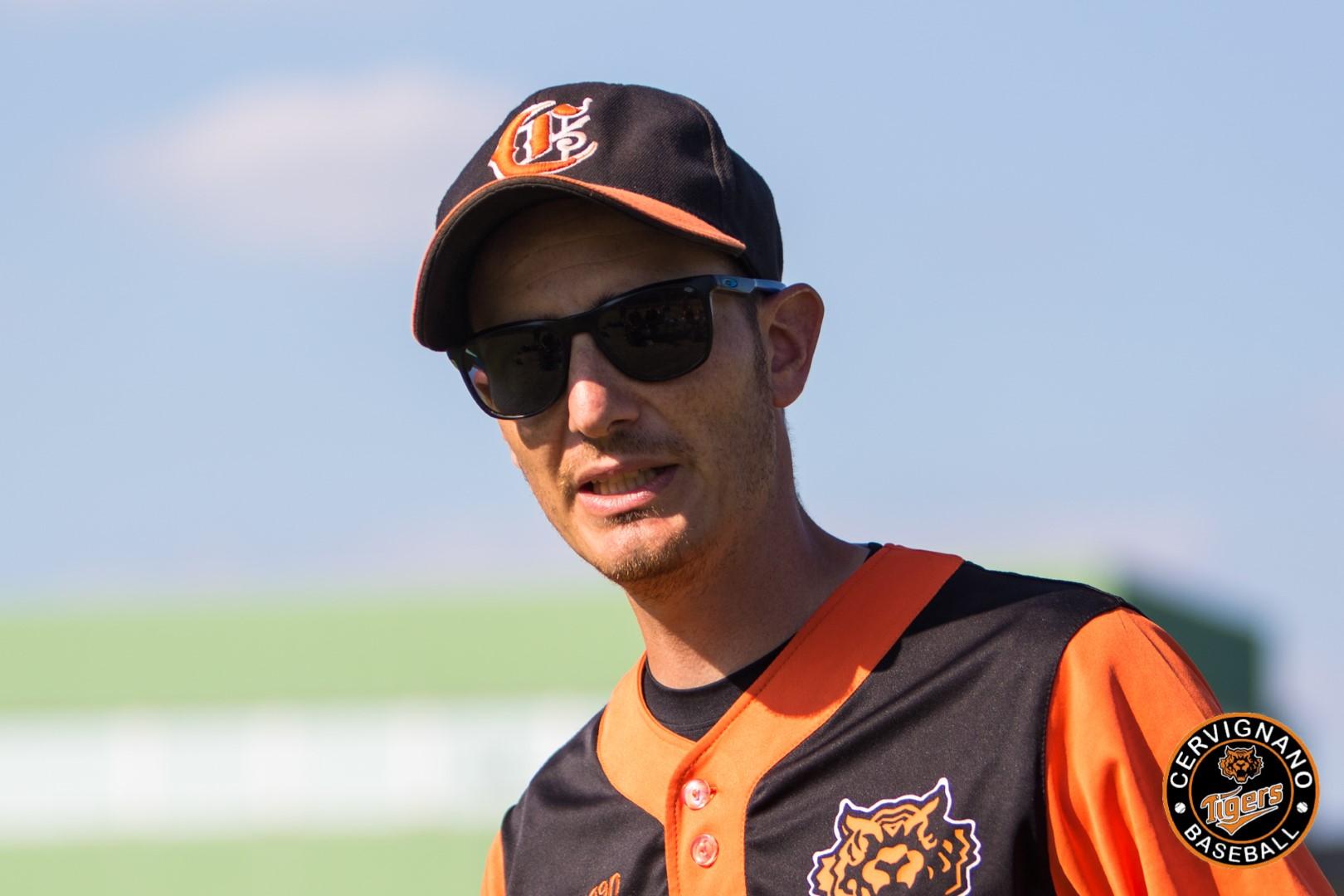 Luca Ricciarelli, coach degli Amatori Tigers