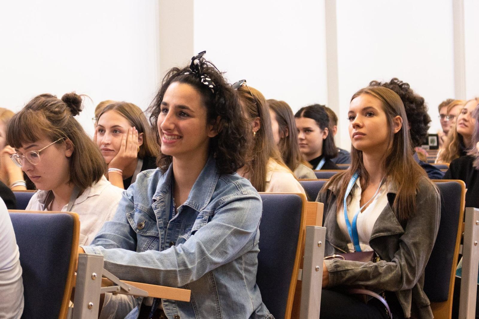 Sofia Sguassero al European Youth Parliament, Trojmiasto, Polonia