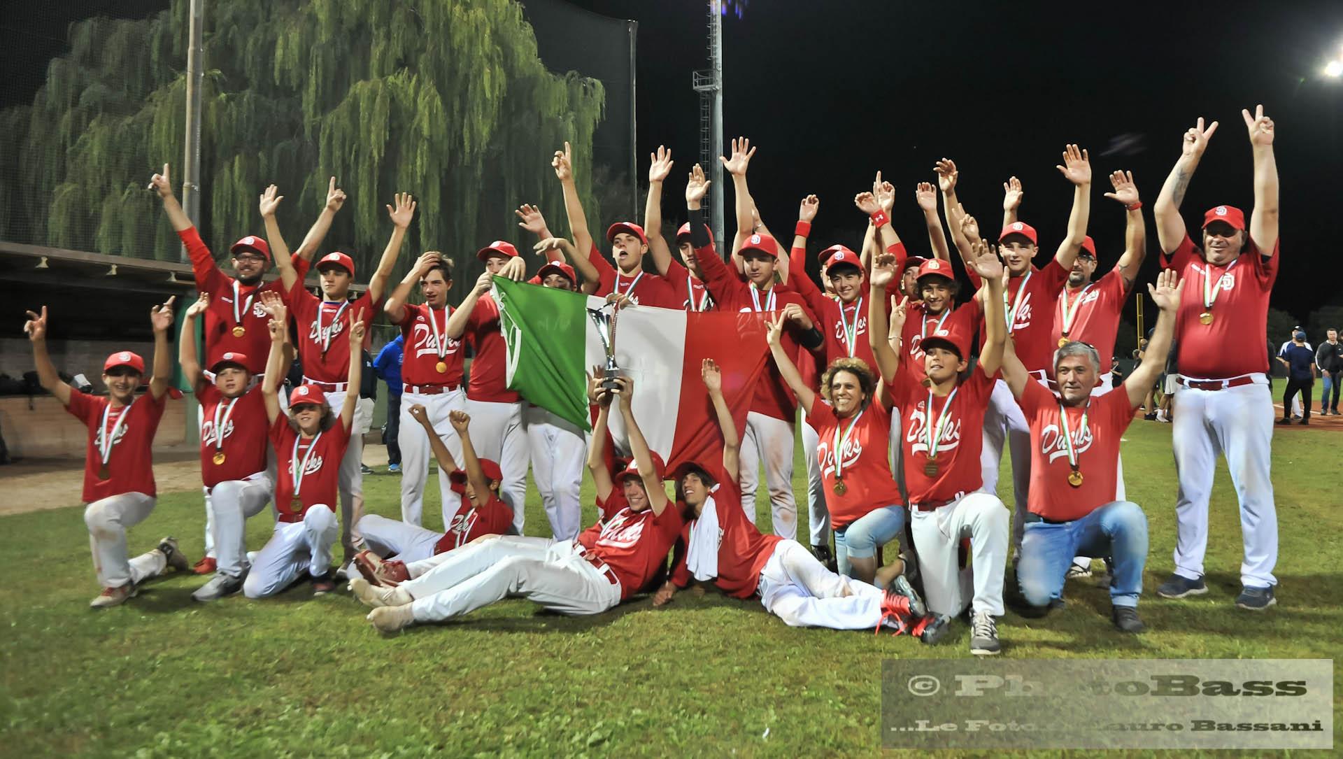 Staranzano Ducks campioni d'Italia U15 2019