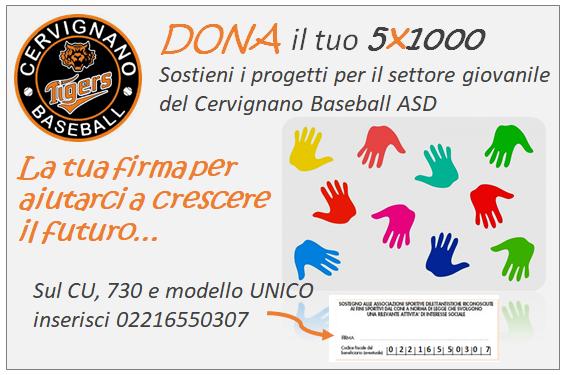 5x1000-2019-Cervignano_Baseball
